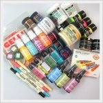 Paints, markers and accessories