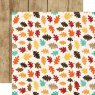 Scrapbooking Paper Echo Park / A Perfect Autumn / Lovely Leaves