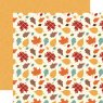 Scrapbooking Paper by Echo Park / Celebrate Autumn / Falling Leaves