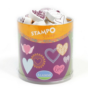 Aladine Stamp Set / Hearts