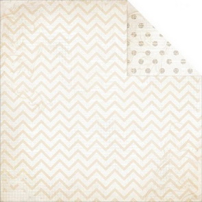 Scrapbooking paper by BoBunny / Double Dot / Sugar Chevron