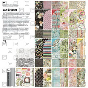 Scrapbook Paper / Out of Print  / Collection Pack