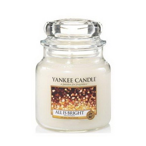 Classic Yankee Candle / střední / All is Bright