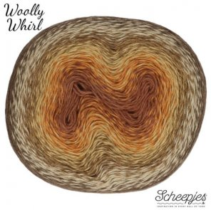 Woolly Whirl 1000 m / 471 Chocolate Vermicelli