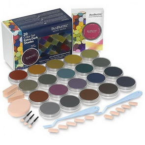 PanPastel Set / 20 Colors / Extra Dark Shades