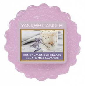 Vosk Yankee Candle / Honey Lavender Gelato