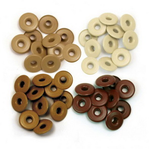 Eyelets for Pandora Beads / Brown Wide
