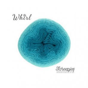 Whirl Ombré 1000 m / 559 Turquoise Turntable