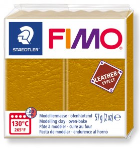 FIMO Effect Leather / Ocher (179)