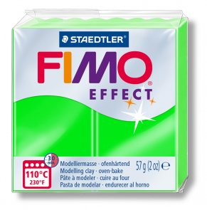 FIMO Effect Neon / Green (501)