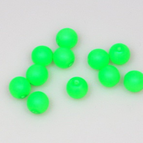 Neon Beads / 50 pieces / 8 mm / Green