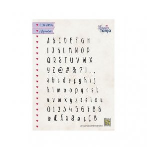 Silicone Alphabet Stamp by Nellie´s Choice / Javi