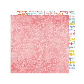 Scrapbooking Paper by Amy Tangerine / Oh Happy Life / Sweet Thing