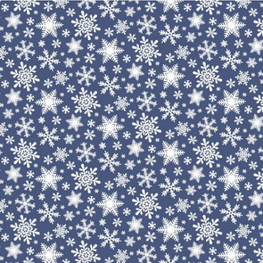 Scrapbooking Paper by American Crafts / Snowflakes