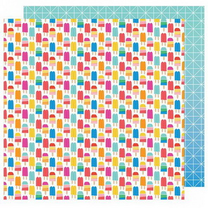 Scrapbooking Paper by American Crafts / Amy Tangerine / On a Whim / Keep Your Cool