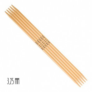 Addi Double-Pointed Needles Bamboo / 3,25 mm