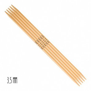 Addi Double-Pointed Needles Bamboo / 3,5 mm