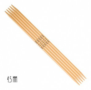 Addi Double-Pointed Needles Bamboo / 4,5 mm