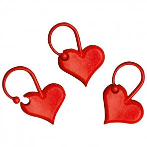 Addi Stitch Markers / Hearts / 5 pcs