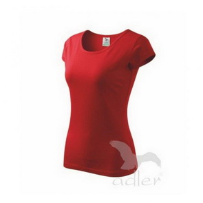 Adler Women´s Cotton T-Shirt / Red / size S