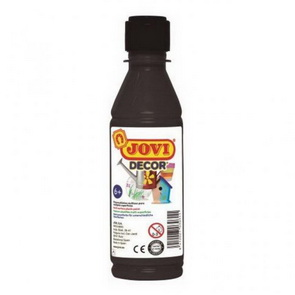 Acrylic Paint by JOVI / 250 ml / Black