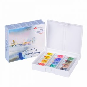 Watercolour Paints / St. Petersburg / White Nights / 12 pc