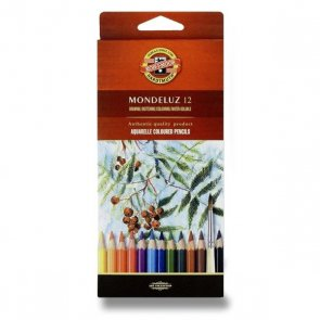Aquarel pencils by Koh-I-Noor / 12 pc