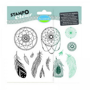 Aladine Silicone Stamp Set / Dreamcatcher