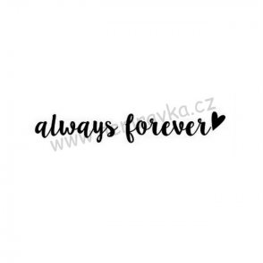 Silicone Stamp by Nemravka / Always Forever