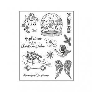 Silicone Stamps by Viva / Angel Kisses