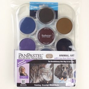 PanPastel Set / 10 Colors / Animal Art Kit
