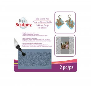 Sculpey Silicone Bakeable Mold / Lace