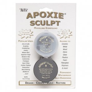 Apoxie Sculpt / Black / Small Package