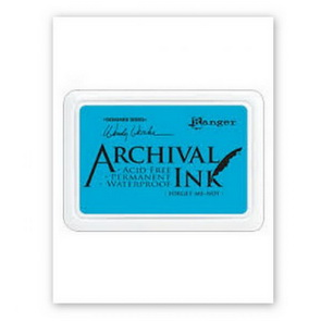 Archival Ink Pad / Forget Me Not - Blue