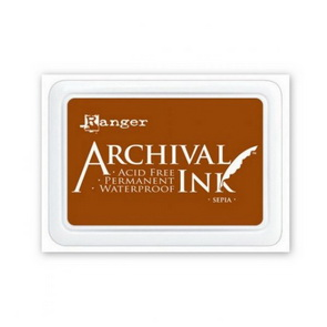 Archival Ink Pad / Sepia