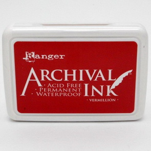 Archival Ink Pad / Vermillion