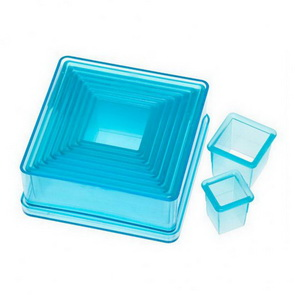 Cutter Set by Ateco / Polycarbonate / Square