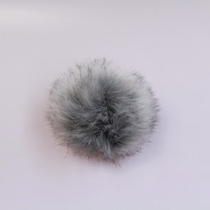 Pompons small / Grey Wolf Short Hair
