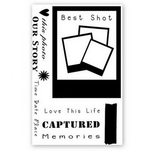Silicone stamp set / Best Shots