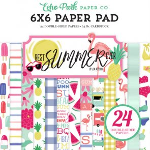 Scrapbooking Paper Pad by Echo Park / Best Summer