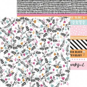 Scrapbooking Paper by KaiserCraft / Bleesed / Friendship