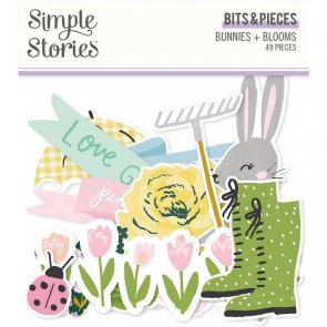Dekorace papírové / Simple Stories / Bunnies and Blooms