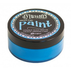 Dylusions Paint / London Blue