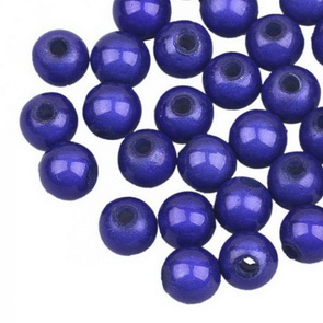 Sparkling Beads / 20 pc / 6 mm / Blue