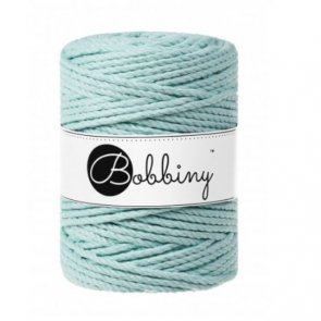 Bobbiny Macrame 3PLY XXL 5mm 800 g / Mint