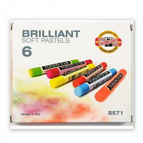 Koh-I-Noor Dry Powder Pastel Set / Brilliant