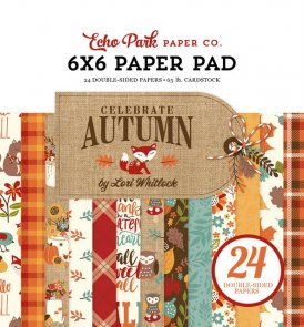 Scrapbooking Paper Pad by Echo Park / Celebrate Autumn