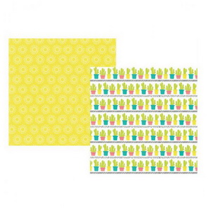 Scrapbooking Paper by Simple Stories / Hello Summer / Catching Rays