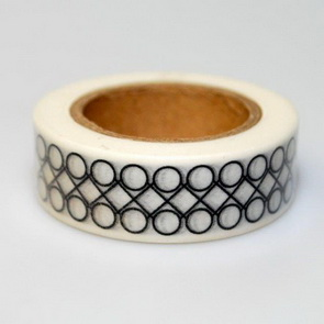 Washi Tape / Black&White Rings