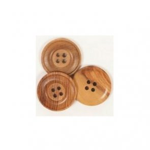 Button Cedar / 25 mm